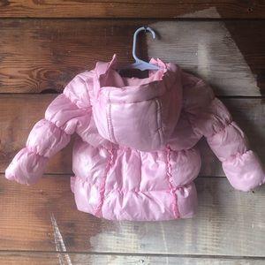 Weatherproof Jackets & Coats - Weatherproof Baby Puffer Coat Pastel Pink 3-6 M